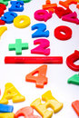 Plastic Numbers - Mathematics Royalty Free Stock Images