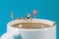 Plastic People Swimming In Cof...