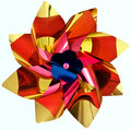 Plastic pinwheel toy Royalty Free Stock Photos