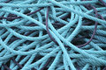 Plastic ropes Royalty Free Stock Photo