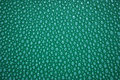Plastic rough surface bubbely of a blue green piece of for background Royalty Free Stock Photography