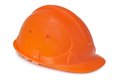 Plastic safety helmet Stock Image