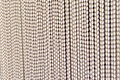 Plastic strip bottom of curtain Stock Photography