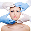 Plastic surgery Royalty Free Stock Images