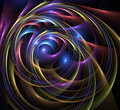 Plastic swirls Stock Images