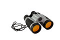 Plastic toy binoculars for kids isolated on white background with clipping path Stock Photography