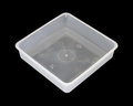 Plastic tray ,food packaging Royalty Free Stock Photography