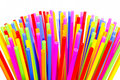Plastic tube variety of colors. Royalty Free Stock Photography
