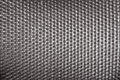 Plastic woven wicker pattern, black color background texture Royalty Free Stock Photo
