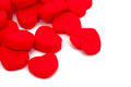 Plasticine hearts Royalty Free Stock Photos