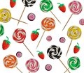 Plasticine lolly pop Stock Images