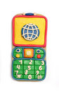 Plasticine mobile telephone Royalty Free Stock Photos