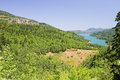 Plastiras Lake, Greece Stock Photo