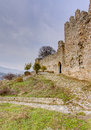 Platamon Castle, Pieria, Greece Stock Image