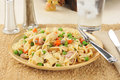 Plate of tuna casserole Royalty Free Stock Photo