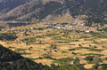 Plateau of Askyfou at Crete island in Greece, Stock Image