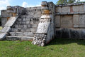 Platform of the Eagles and Jaguars, Chichen Itza Royalty Free Stock Images