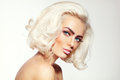 Platinum blonde Royalty Free Stock Photo
