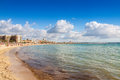 Platja de palma beach mallorca balearic islands spain Stock Photography