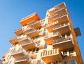 Plattenbau Royalty Free Stock Photos