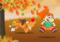 Play during the autumn
