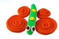 Play dough animal