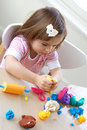 Play dough game Royalty Free Stock Photo