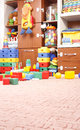 Play room with many toys Stock Images