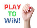 Play to Win Words Determination
