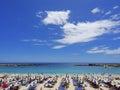 Playa de Amadores beach. Gran Canaria. Spain Royalty Free Stock Photo