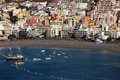 Playa de los Cristianos, Tenerife Stock Photography