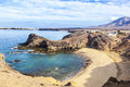 Playa de Papagayo of Lanzarote, Canary Islands Stock Photography