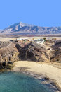 Playa de Papagayo of Lanzarote, Canary Islands Stock Photo