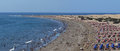 Playa del Ingles - Maspalomas - Gran Canaria Royalty Free Stock Photo