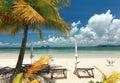 Playa hermosa en tailandia Foto de archivo