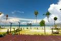 Playa hermosa en tailandia Imagen de archivo