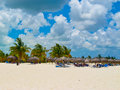 Playa Sirena (Cayo Largo, Cuba, Caribbeans) Royalty Free Stock Photography