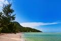 Playa tropical en seychelles Fotos de archivo libres de regalías