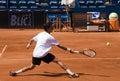 Player Milojevic return a ball Stock Photo