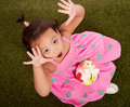 Playful little toddler Royalty Free Stock Photo