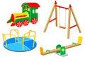 Playground equipment | Set 1 Royalty Free Stock Photo