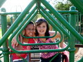 Playground Friends Stock Image