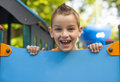 Playground fun Royalty Free Stock Photo