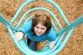Playground girl Royalty Free Stock Photo