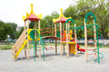 Playground an image of a colorful children Royalty Free Stock Image
