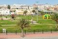 Playground with ordinary people rahima saudi arabia may saudi arabia Royalty Free Stock Photography