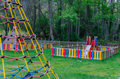 Playground in a park Royalty Free Stock Photo