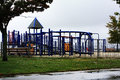 Playground On A Rainy Day