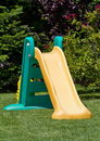 Playground slide Royalty Free Stock Photography