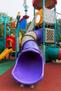 Playground--slide Royalty Free Stock Image